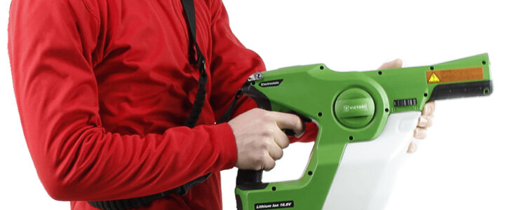 Product Highlight: Victory Handheld Electrostatic Sprayer (w/ Video)